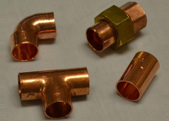 Copper Buttweld fittings