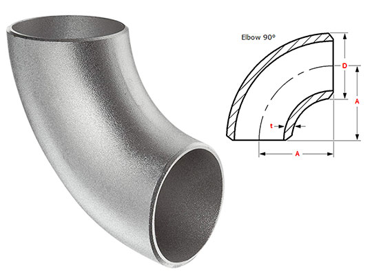 90 degree Long Radius Elbow