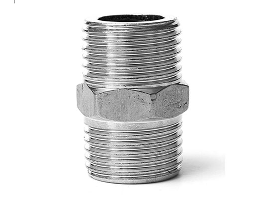 SS Hex Nipple Pipe Fittings Exporter