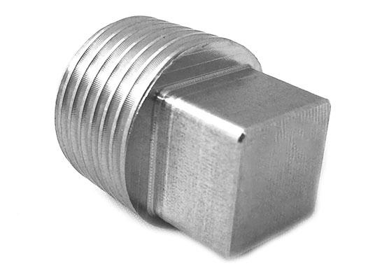 SS Square Head Hex Plug Supplier