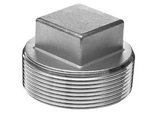 Threaded Square Head Hex Plug
